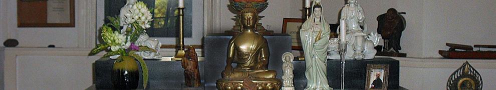 Zendo altar