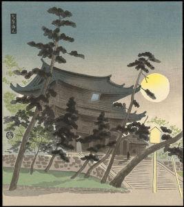 Tokuriki_Tomikichiro-30_Subjects_of_Kyoto-22-Chion-in_Temple_in_Full_Moon-011734-05-19-2012-11734-x800
